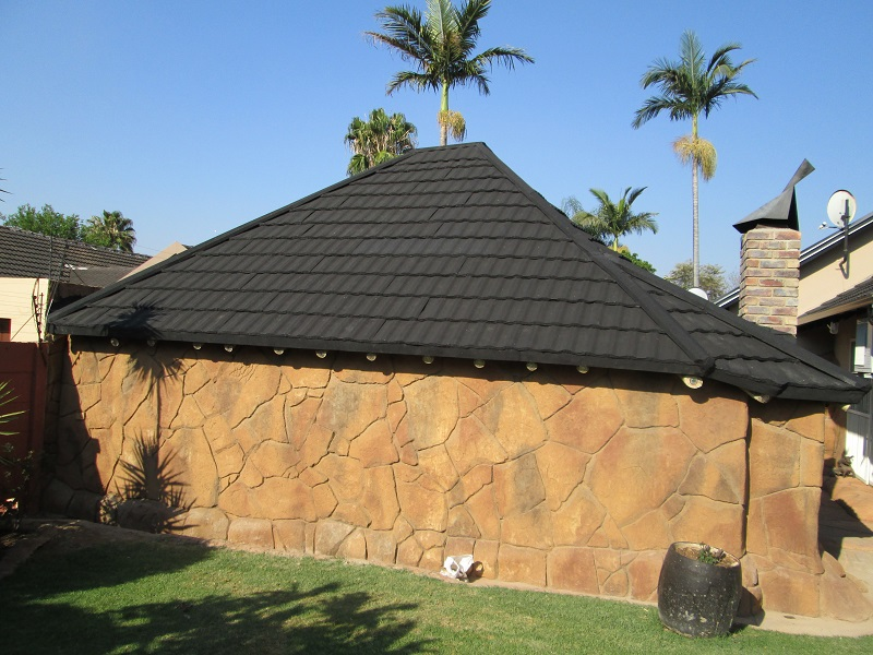 Fiberglass Thatched Roofs Ventilation Of Houses With